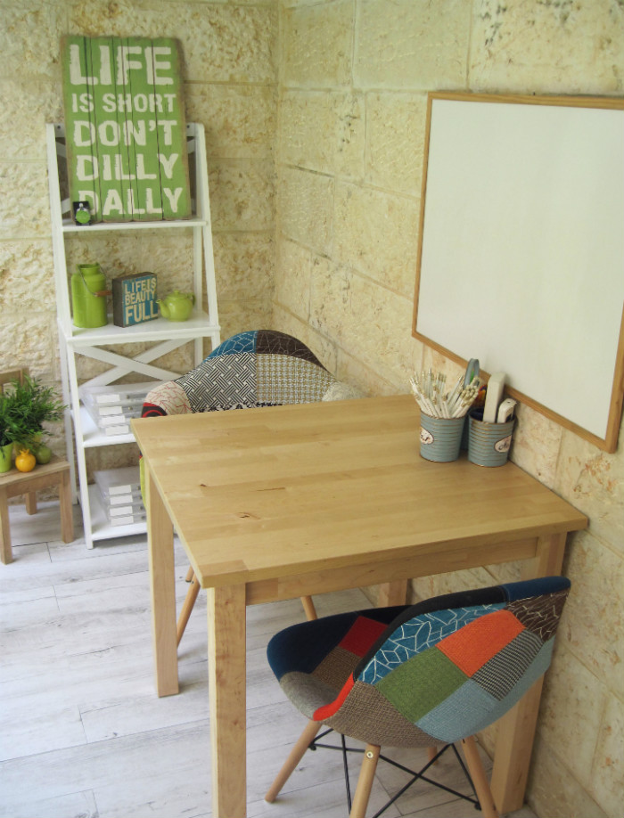 Workspace Tour: An Inspired Home Office In The Garden