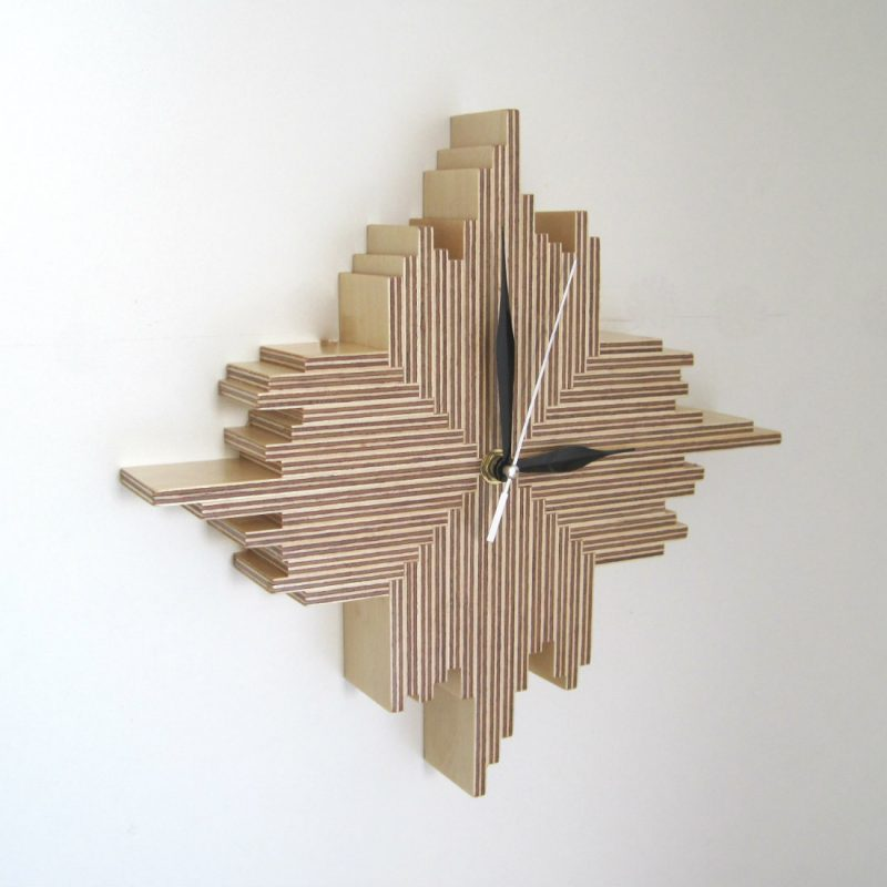 Cristallo Wall Clock from Bright Blue Living