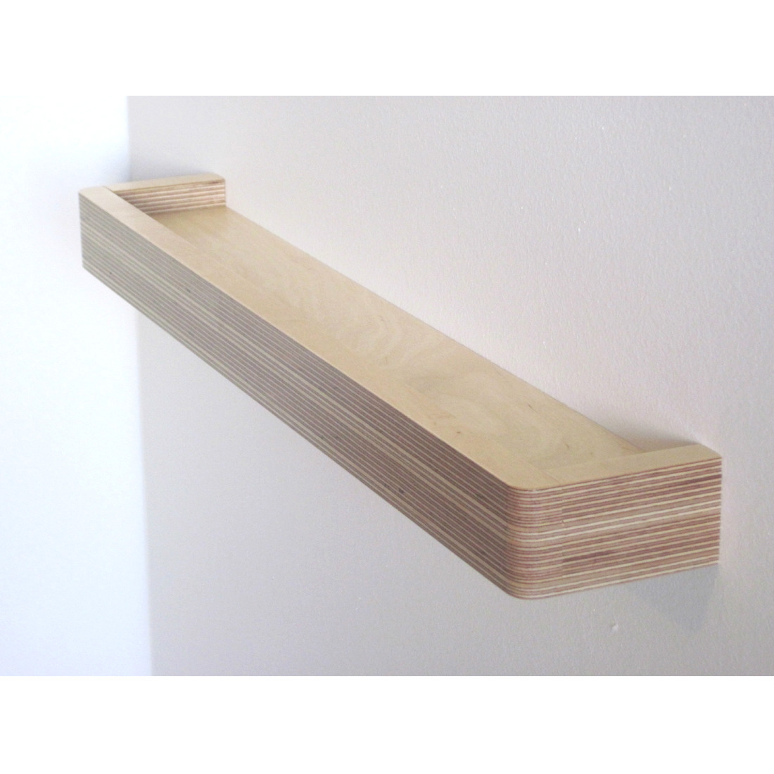 Picture Ledge Floating Shelf from brightblueliving.com