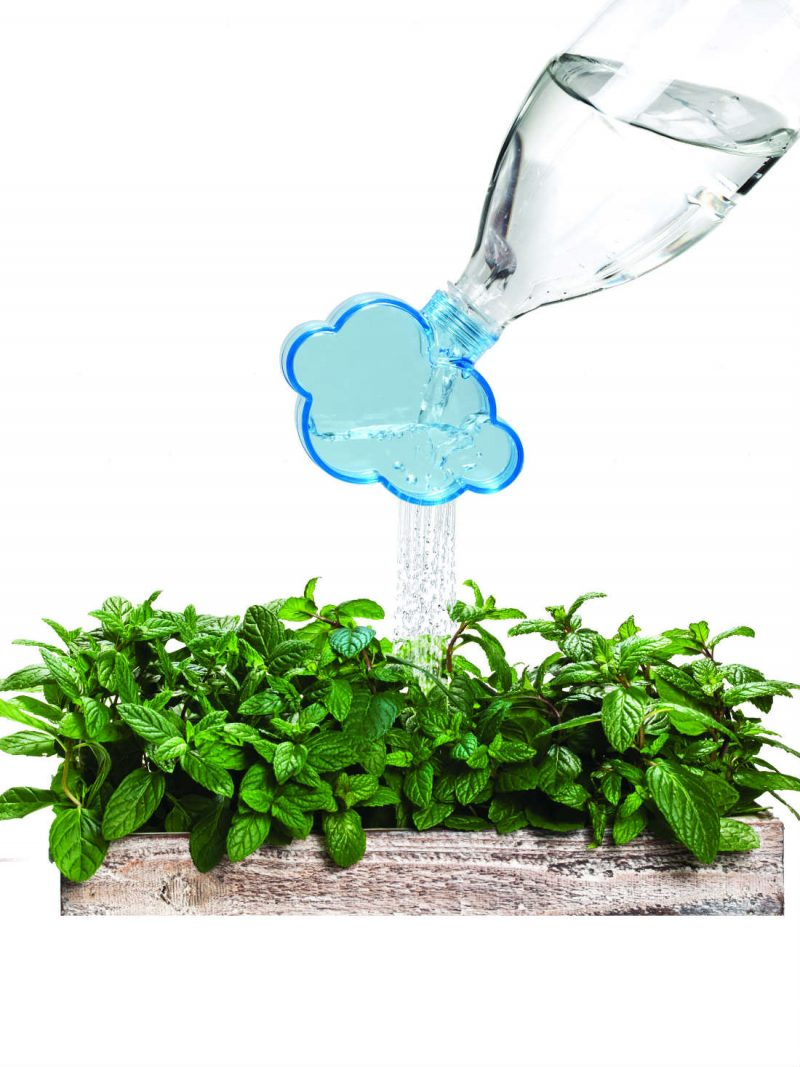 Rainmaker Plant Watering Cloud by Peleg from brightblueliving.com