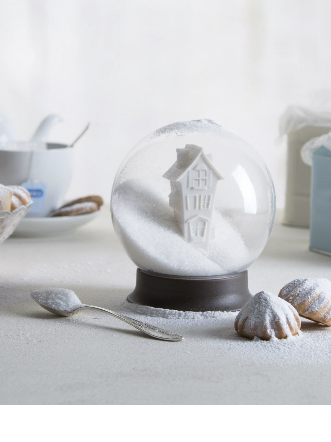 Snow Globe Sugar House Sugar Bowl from brightblueliving.com