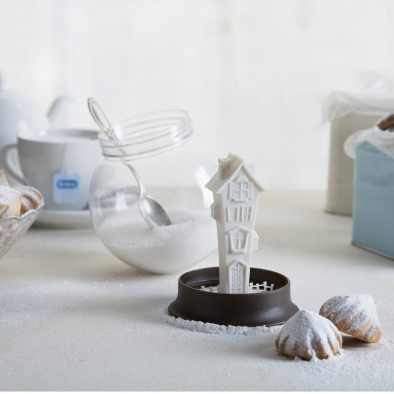 Snow Globe Sugar House Sugar Bowl by Peleg Design from Bright Blue Living