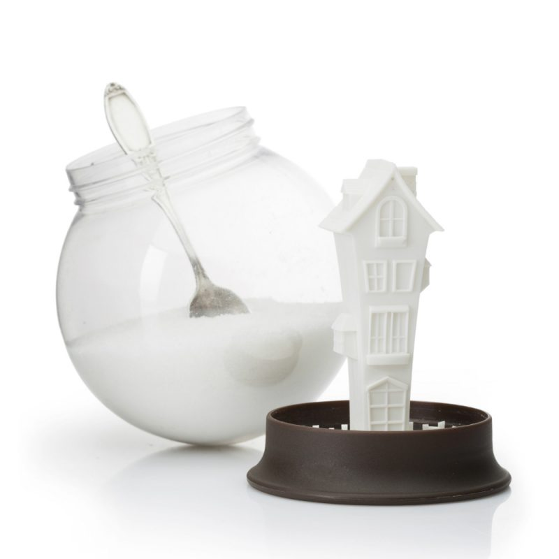 Sugar House Snow Globe Sugar Bowl by Peleg Design from brightblueliving.com
