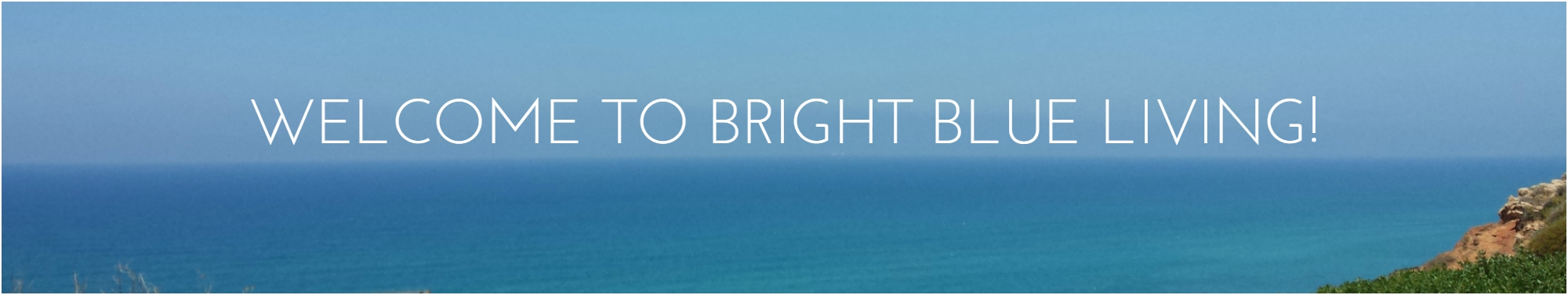 Welcome to Bright Blue Living